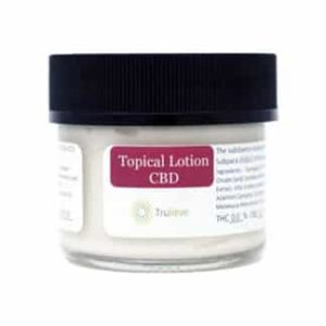 Trulieve Topical CBD Lotion