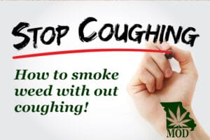 Smoking weed without coughing